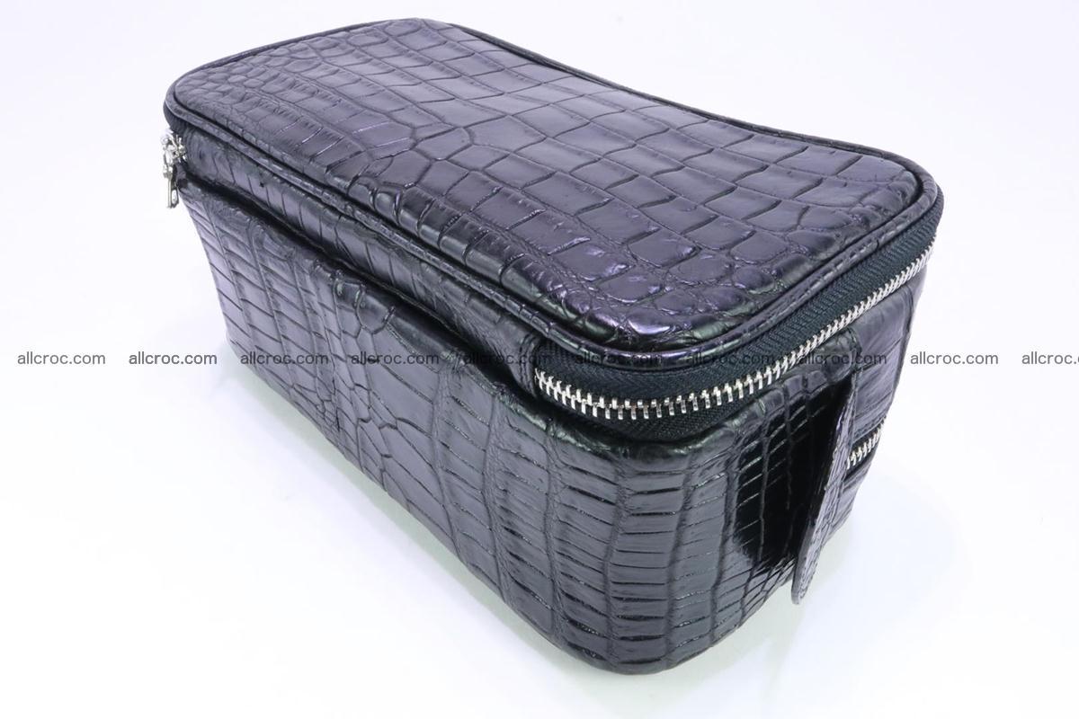 Crocodile skin toiletry bag 365 Foto 9