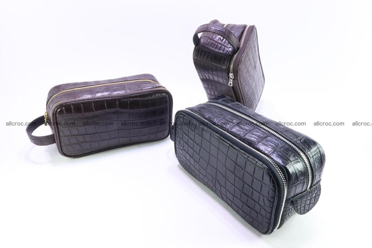 Crocodile skin toiletry bag 365 Foto 12