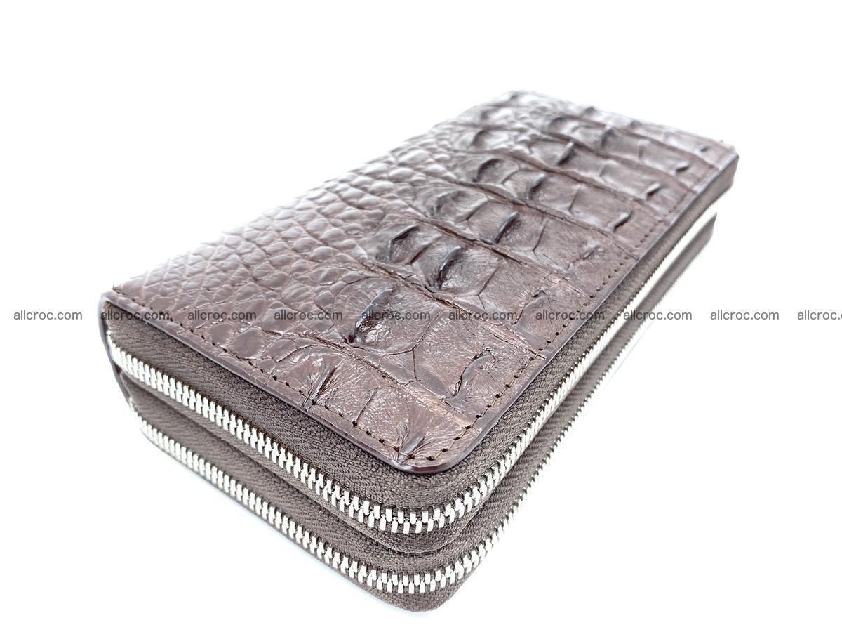 Crocodile skin wallet 2-zips 526 Foto 1