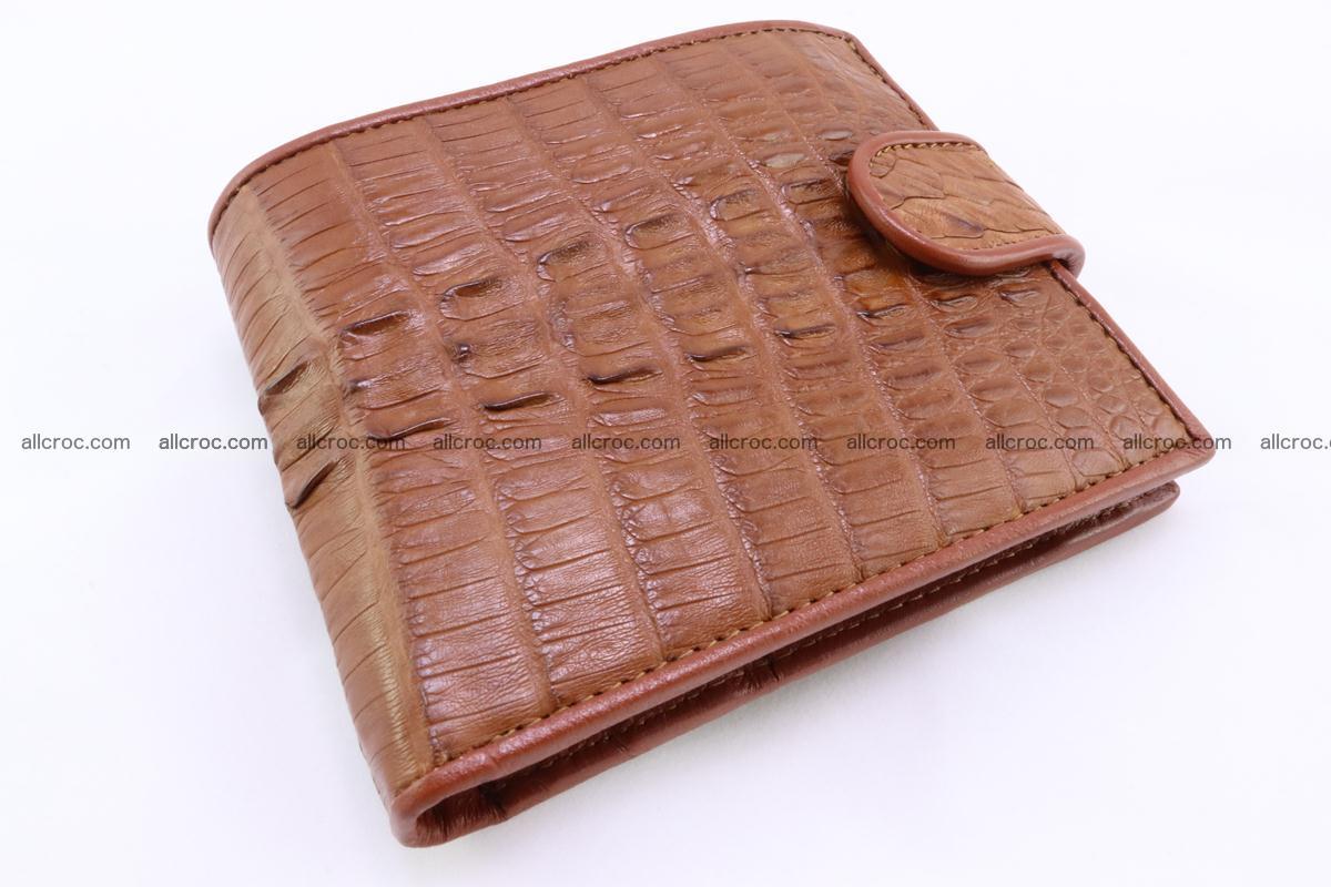 Crocodile skin wallet 353 Foto 3
