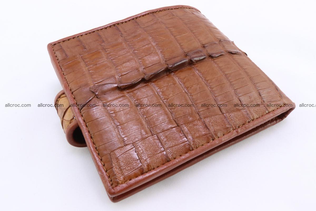 Crocodile skin wallet 353 Foto 4