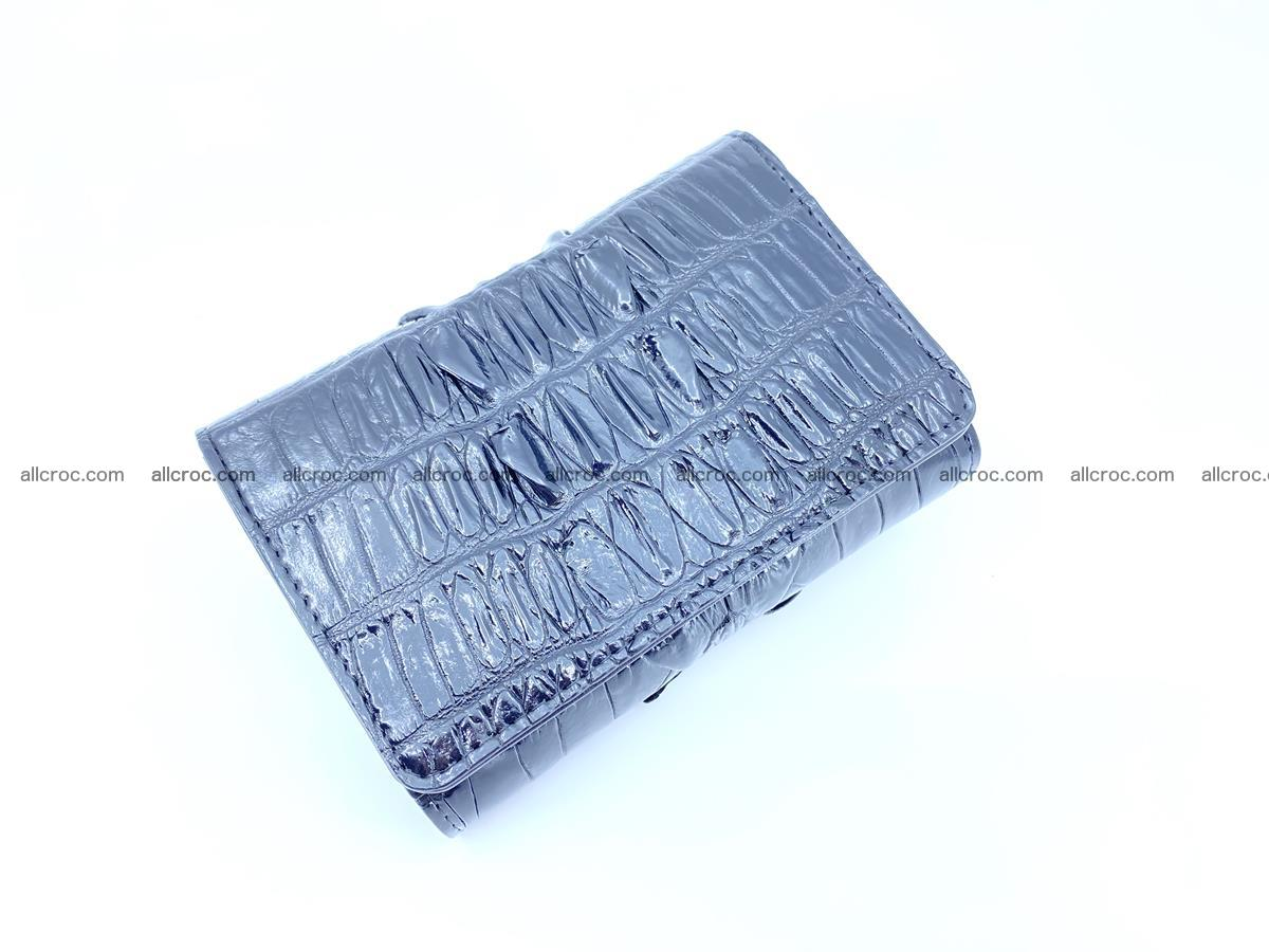 Crocodile skin wallet for women 405 Foto 3