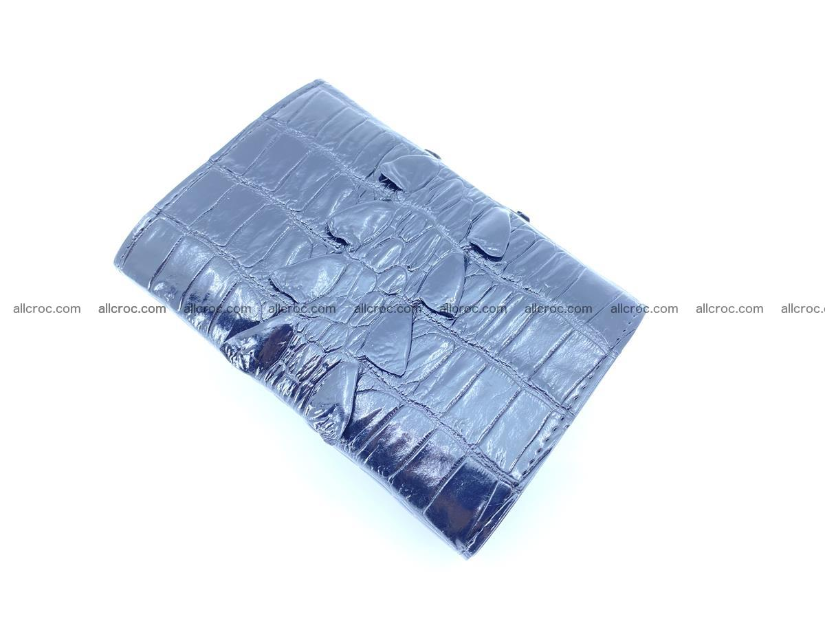 Crocodile skin wallet for women 405 Foto 4