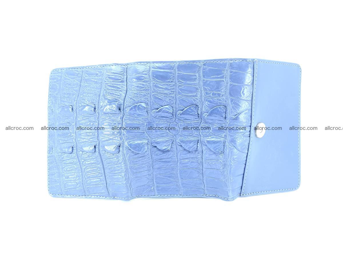 Crocodile skin wallet for women 402 Foto 4