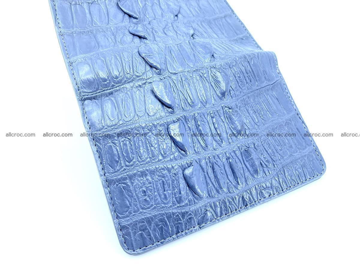 Crocodile skin wallet for women 402 Foto 6
