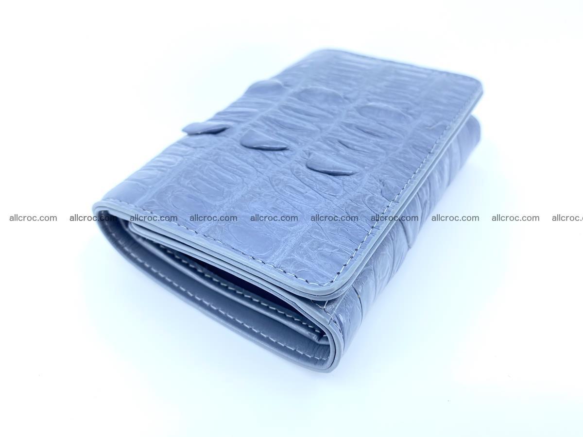 Crocodile skin wallet for women 402 Foto 2