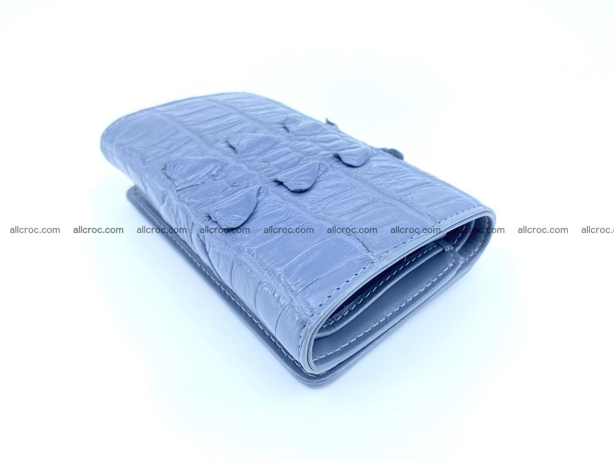 Crocodile skin wallet for women 402 Foto 3