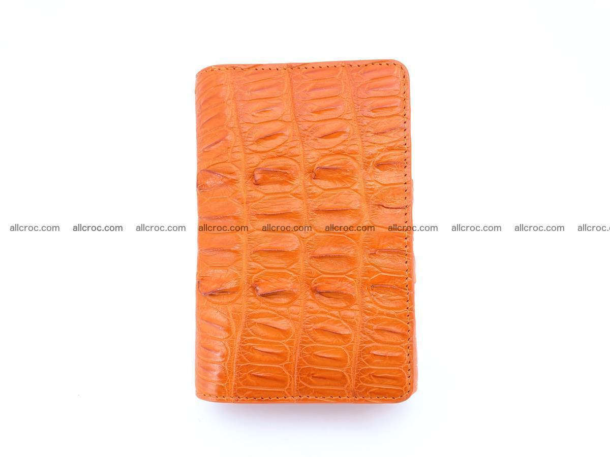 Crocodile skin wallet for women 400 Foto 2
