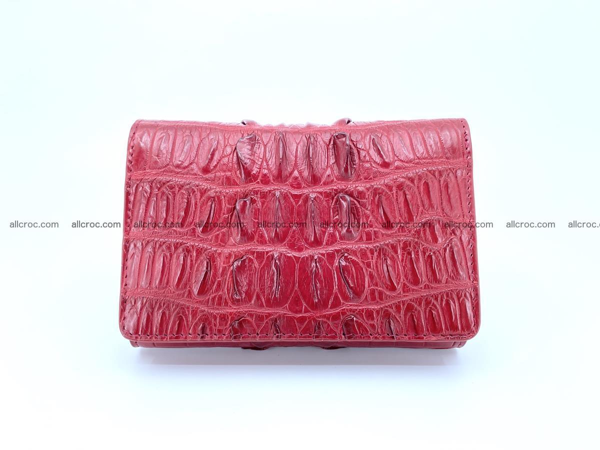 Crocodile skin wallet for women 398 Foto 0