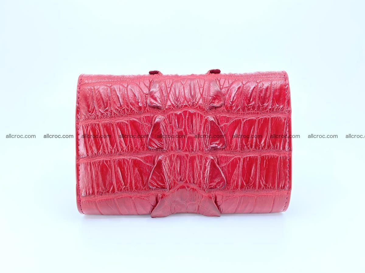 Crocodile skin wallet for women 398 Foto 1