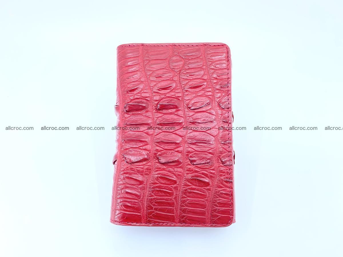 Crocodile skin wallet for women 398 Foto 4
