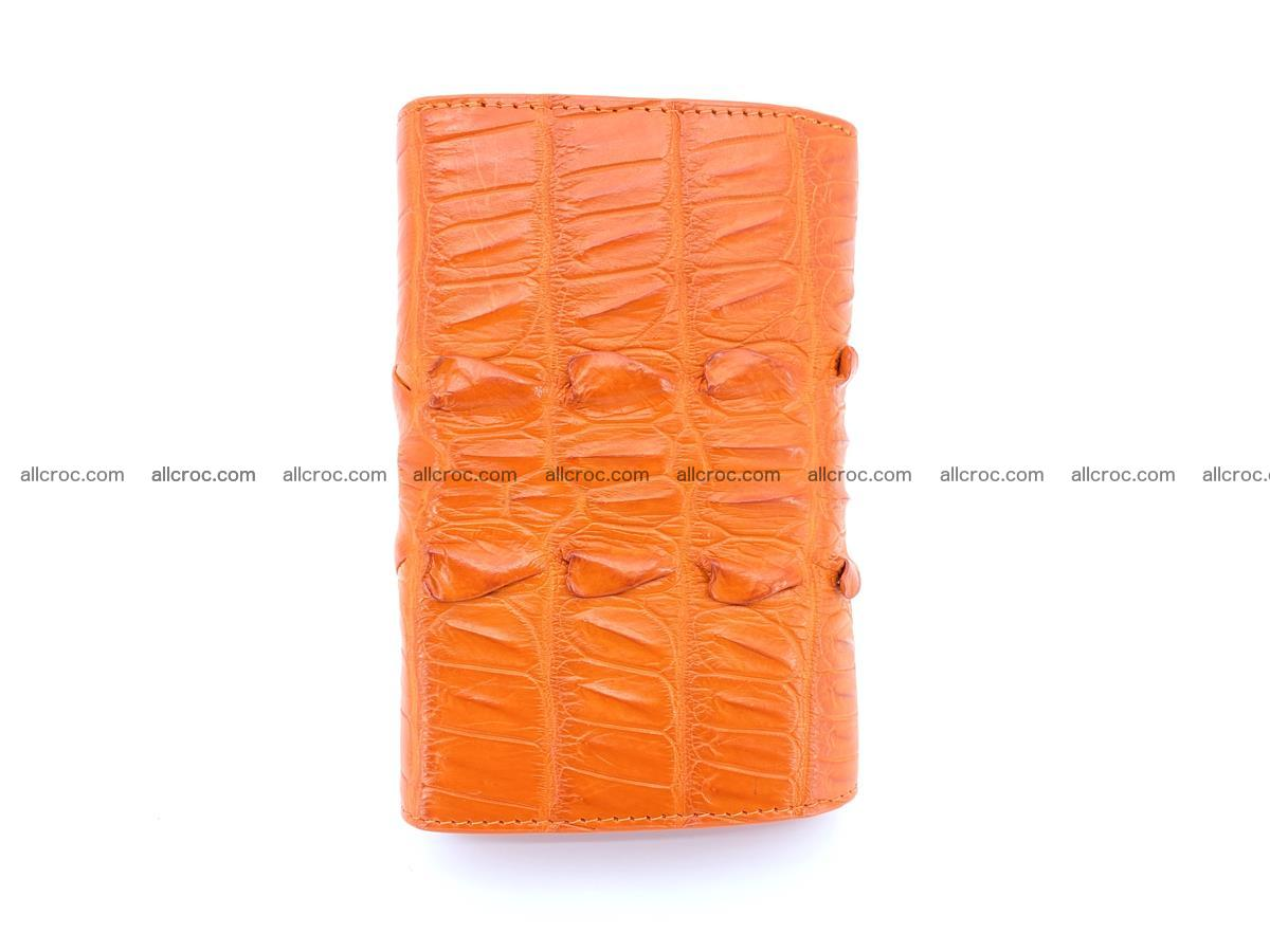 Crocodile skin wallet for women 400 Foto 3