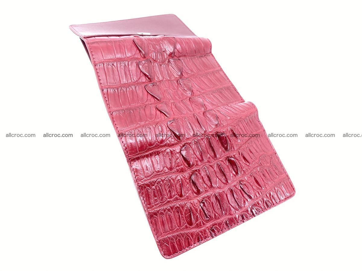 Crocodile skin wallet for women 398 Foto 8