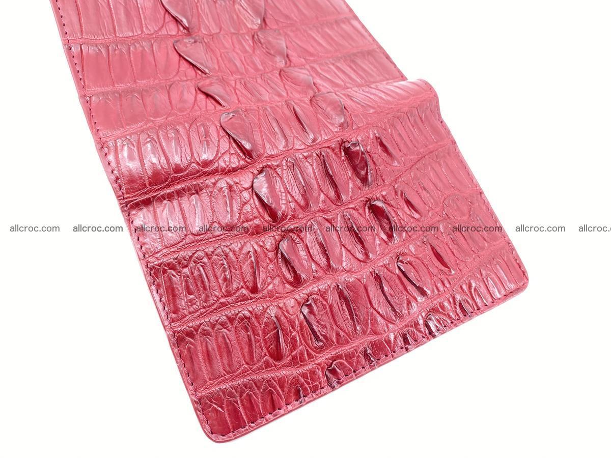 Crocodile skin wallet for women 398 Foto 10
