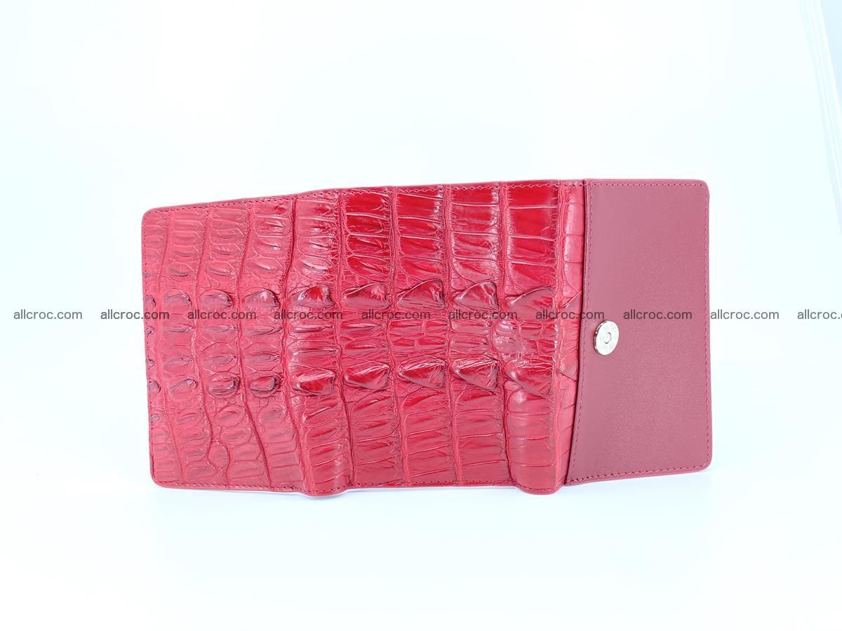 Crocodile skin wallet for women 398 Foto 11