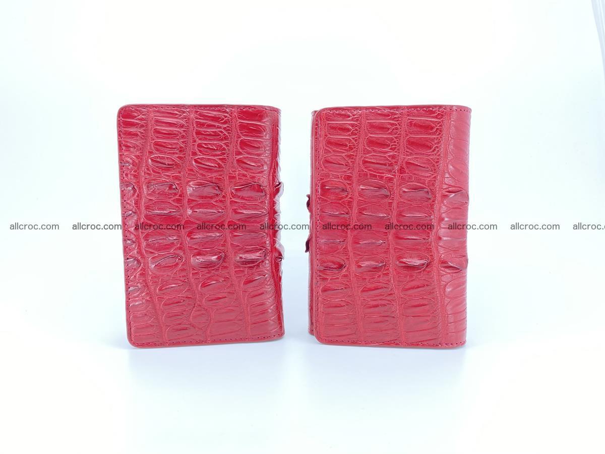 Crocodile skin wallet for women 398 Foto 13