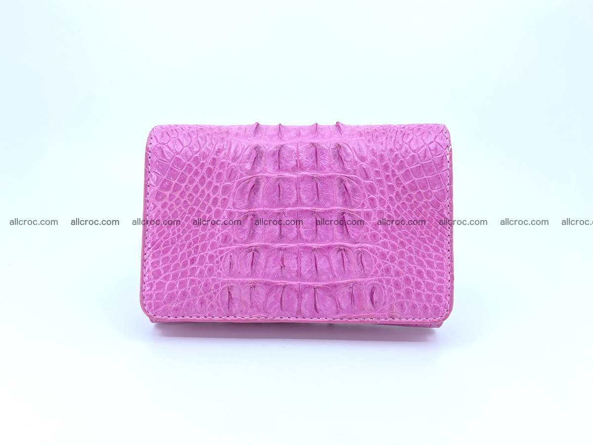 Crocodile skin wallet for women 395 Foto 0