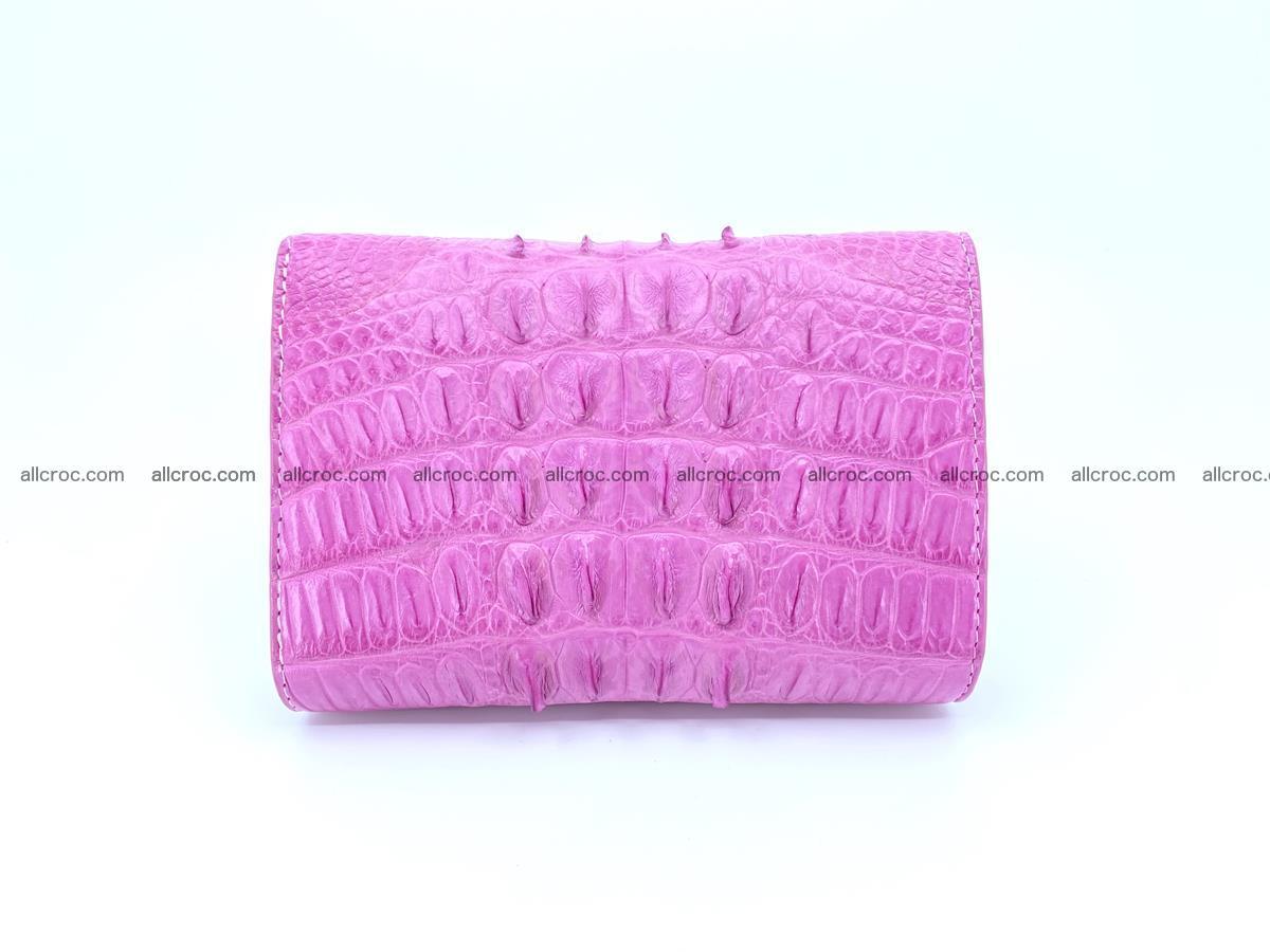 Crocodile skin wallet for women 395 Foto 1