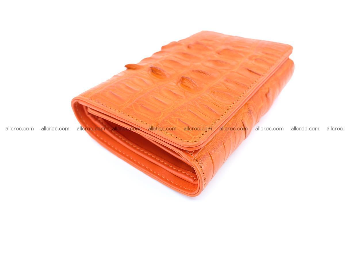 Crocodile skin wallet for women 400 Foto 5