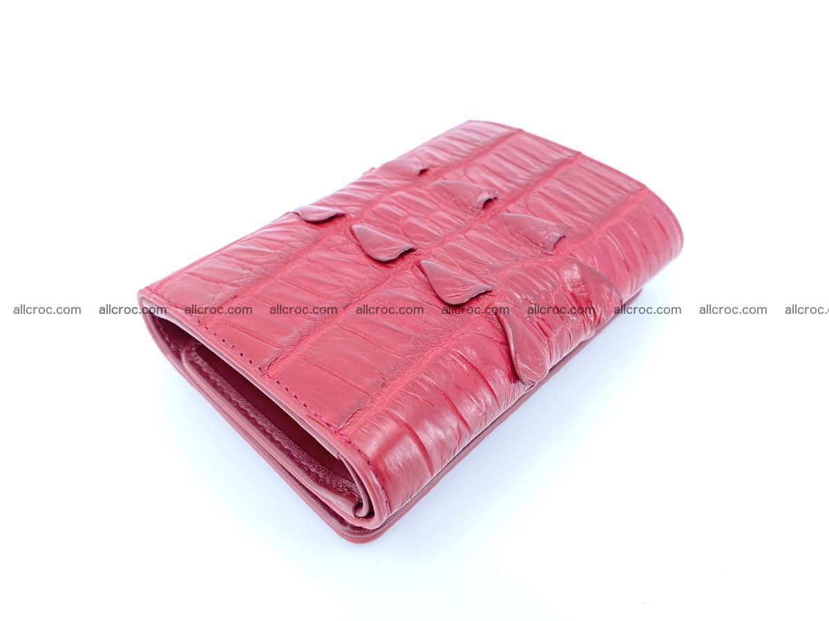 Crocodile skin wallet for women 398 Foto 2