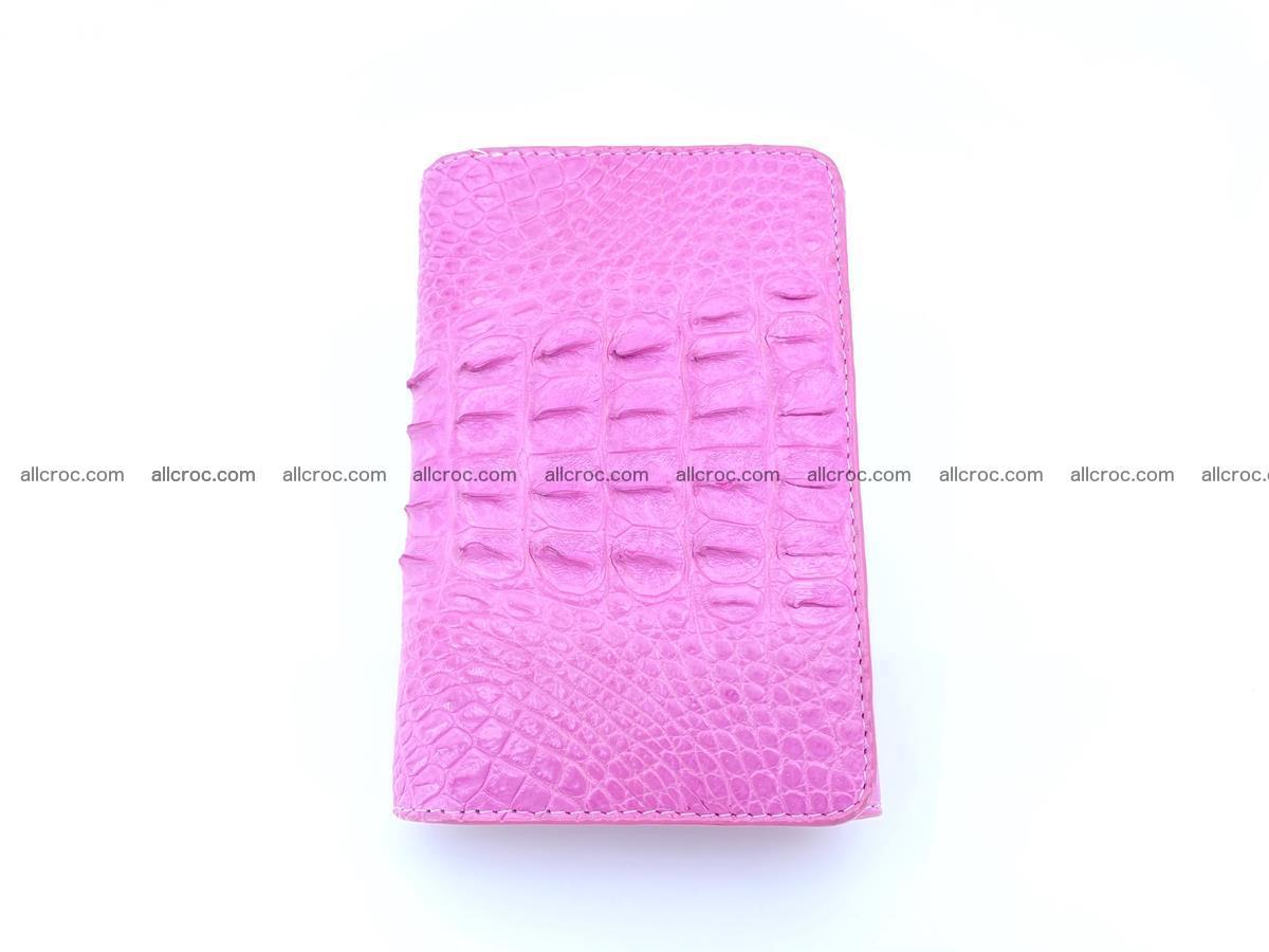 Crocodile skin wallet for women 395 Foto 4