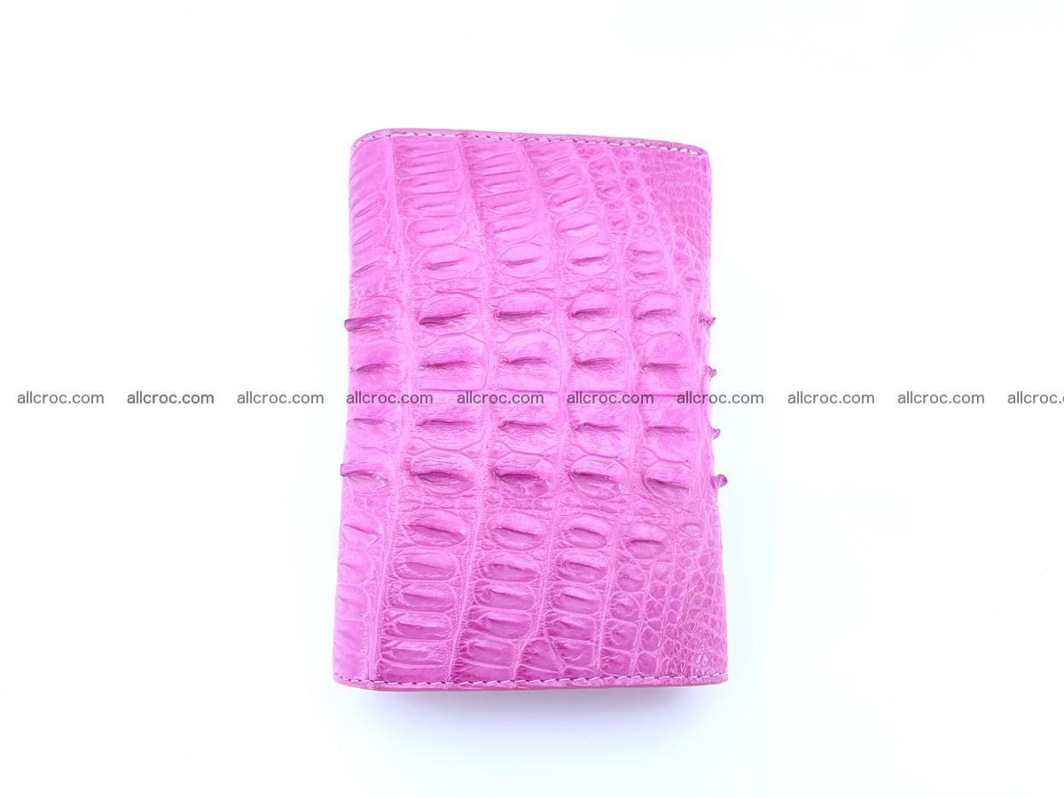 Crocodile skin wallet for women 395 Foto 5