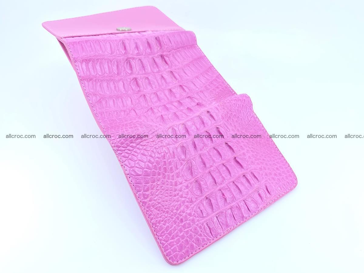 Crocodile skin wallet for women 395 Foto 6