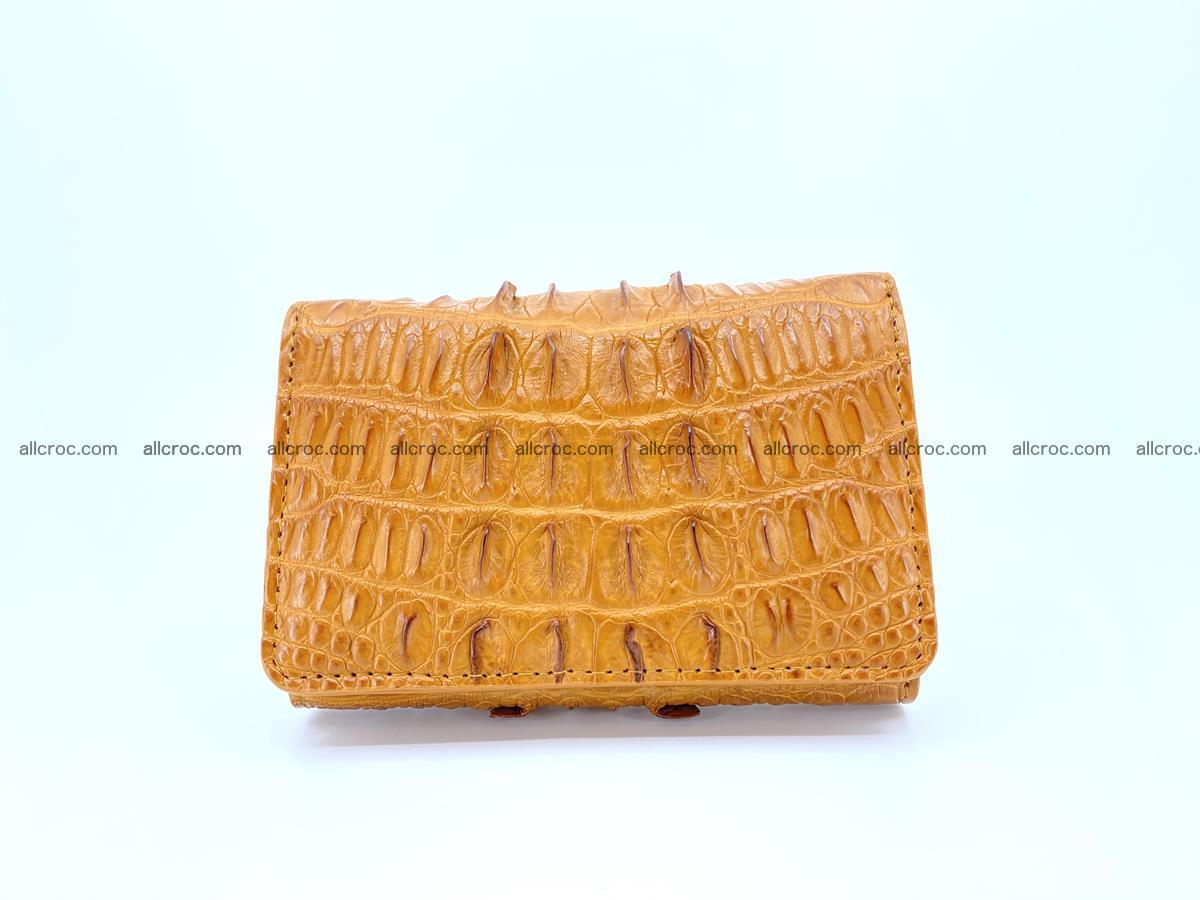 Crocodile skin wallet for women 401 Foto 0