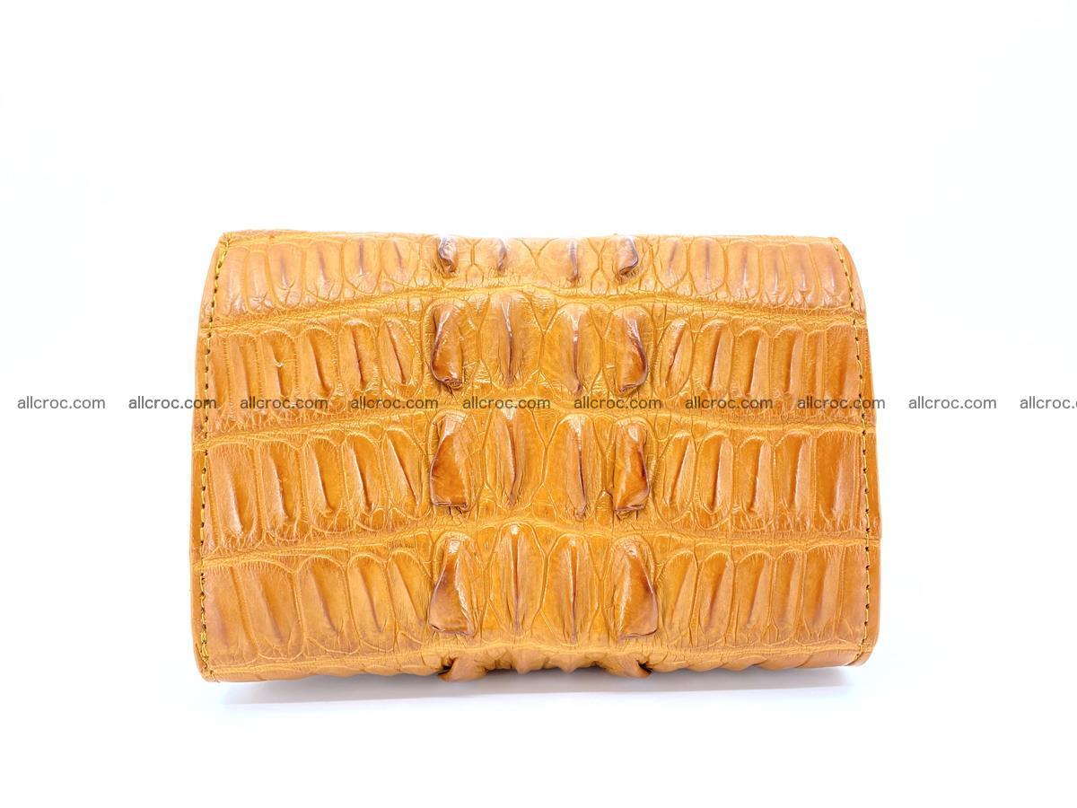 Crocodile skin wallet for women 401 Foto 1