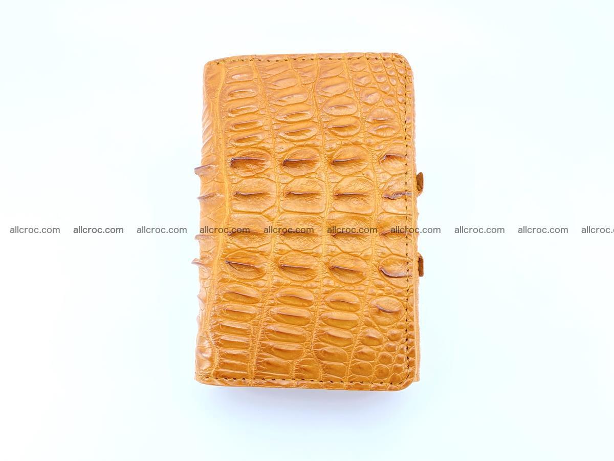 Crocodile skin wallet for women 401 Foto 2