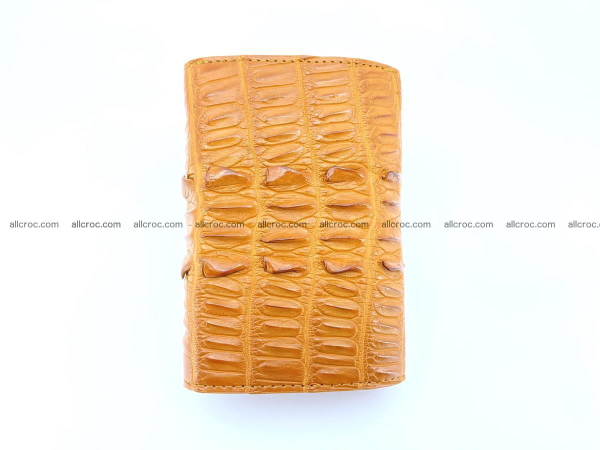 Crocodile skin wallet for women 401 Foto 3