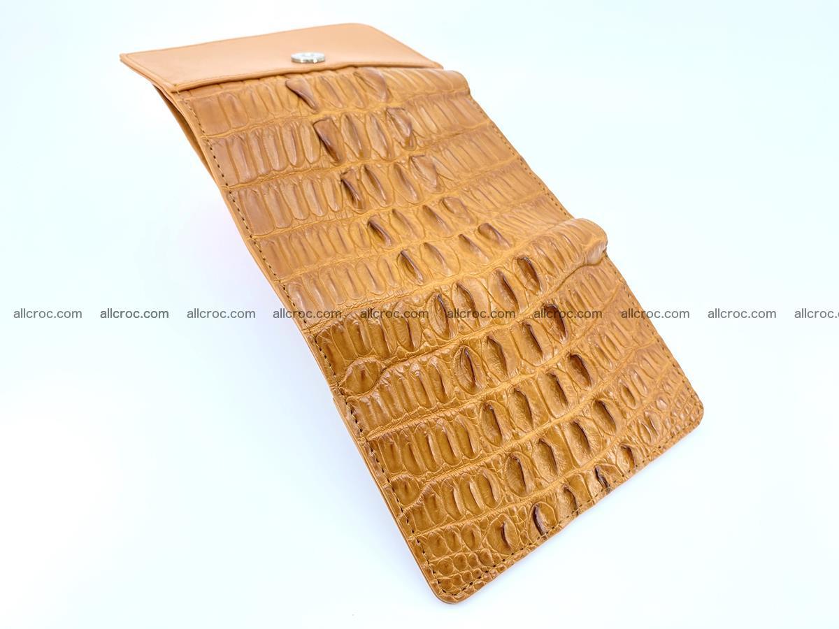 Crocodile skin wallet for women 401 Foto 7