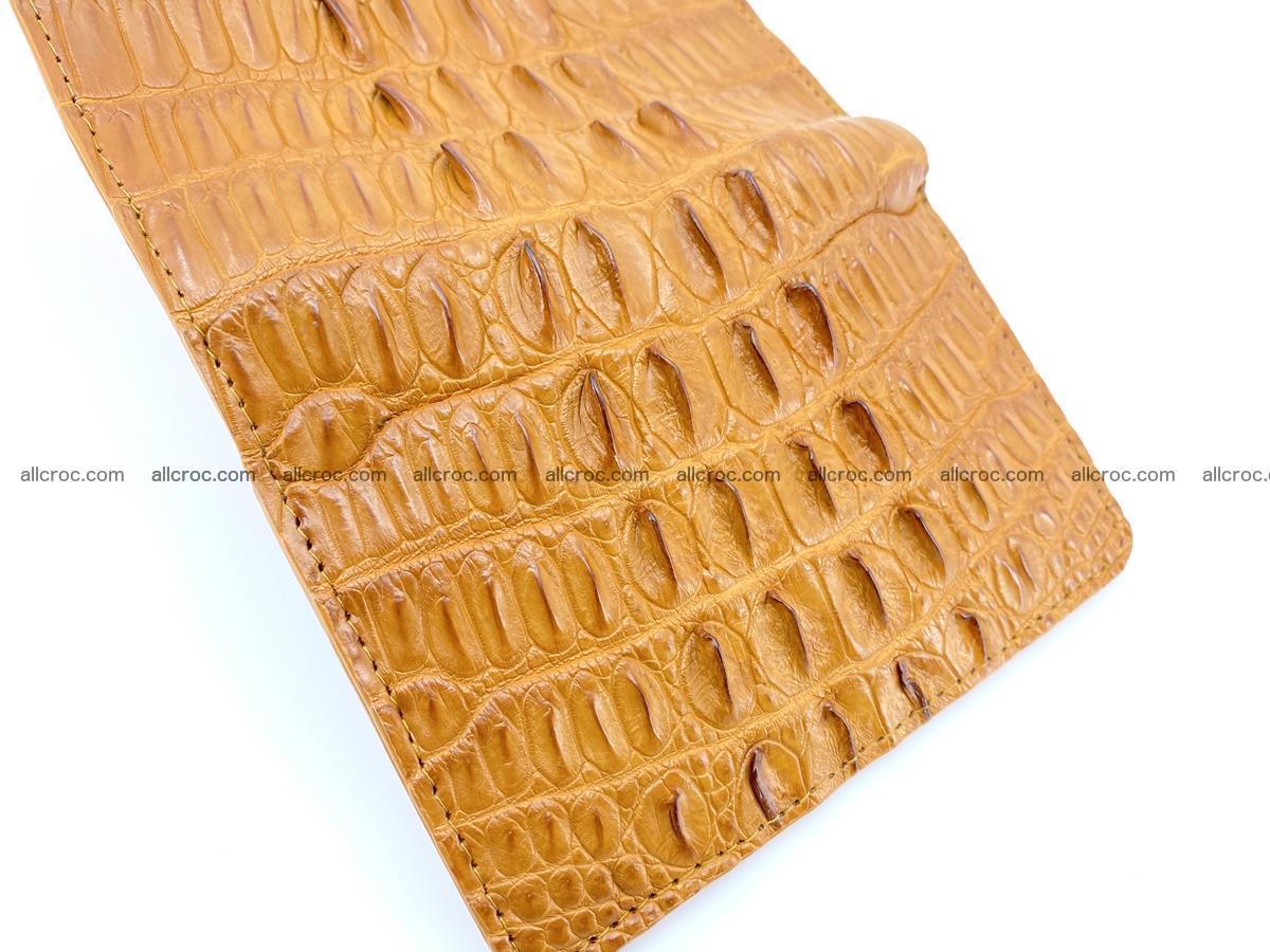 Crocodile skin wallet for women 401 Foto 9