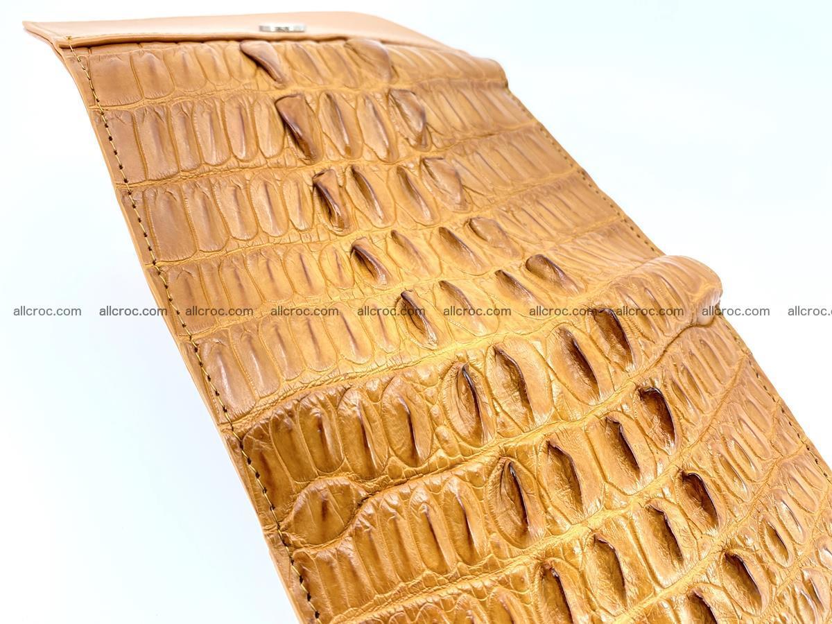 Crocodile skin wallet for women 401 Foto 8