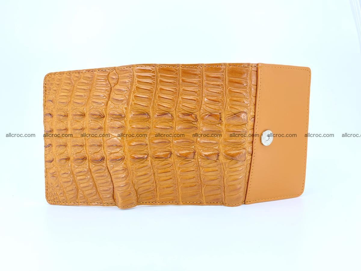 Crocodile skin wallet for women 401 Foto 6
