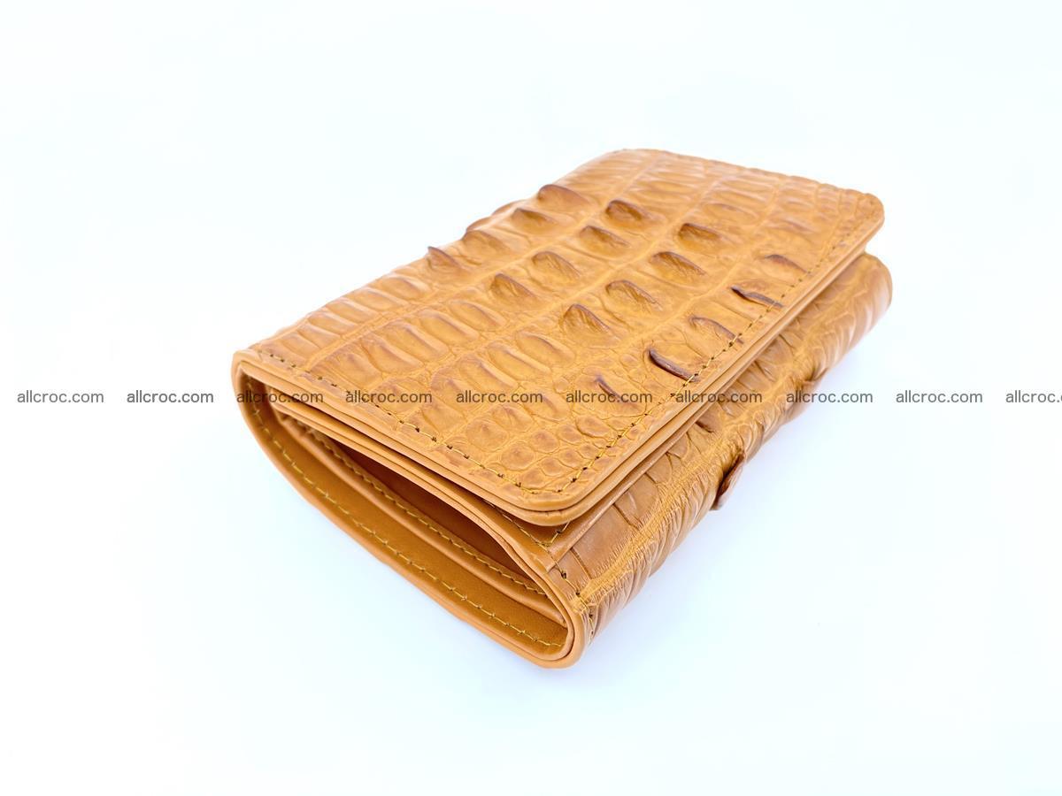Crocodile skin wallet for women 401 Foto 4