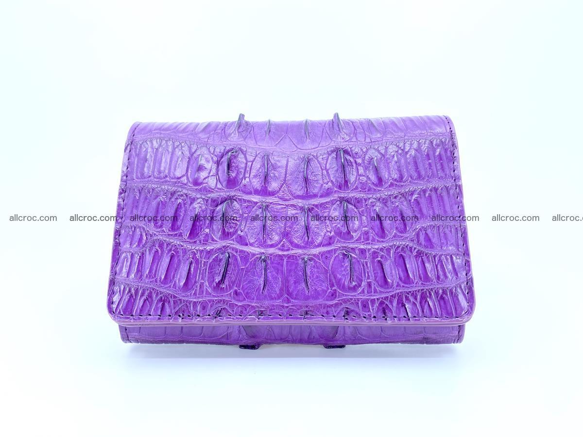 Crocodile skin wallet for women 397 Foto 0