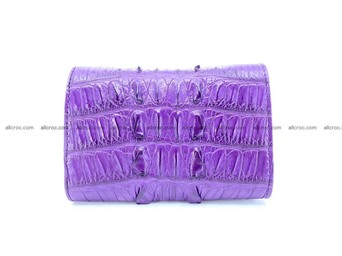 Crocodile skin wallet for women 397 Foto 1