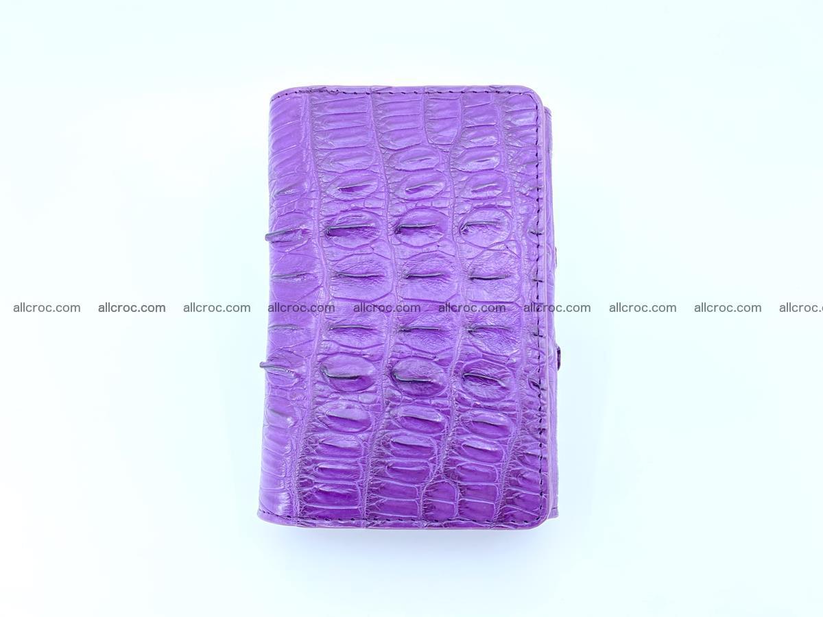 Crocodile skin wallet for women 397 Foto 4