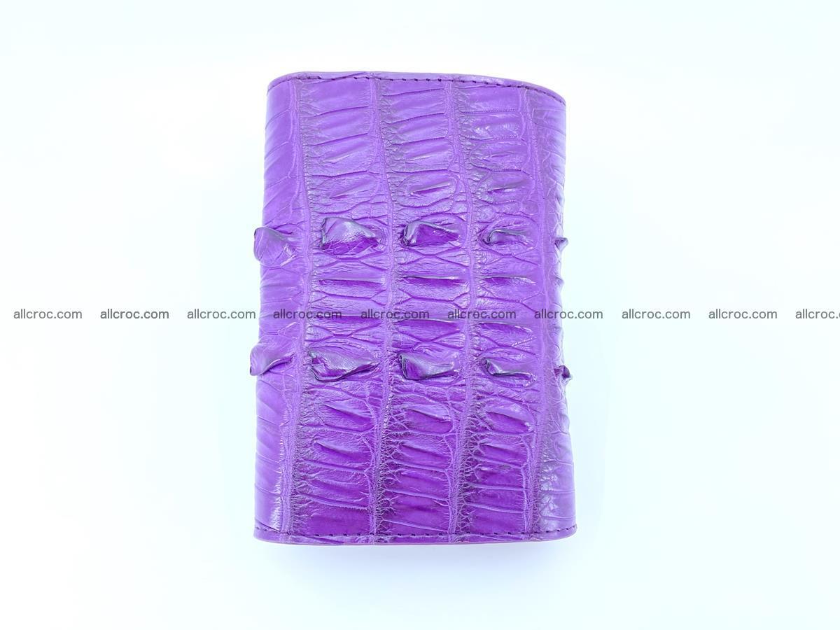 Crocodile skin wallet for women 397 Foto 5