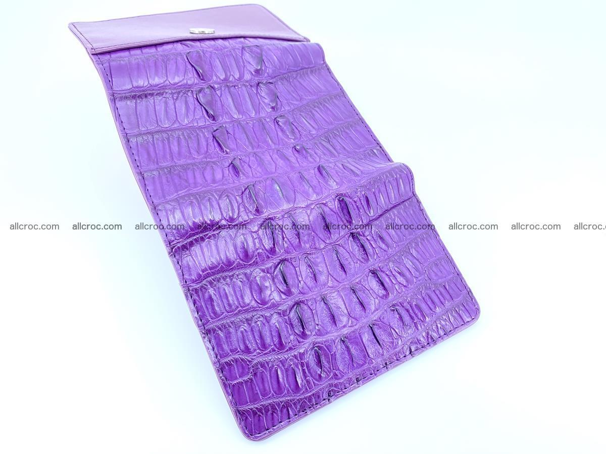 Crocodile skin wallet for women 397 Foto 9