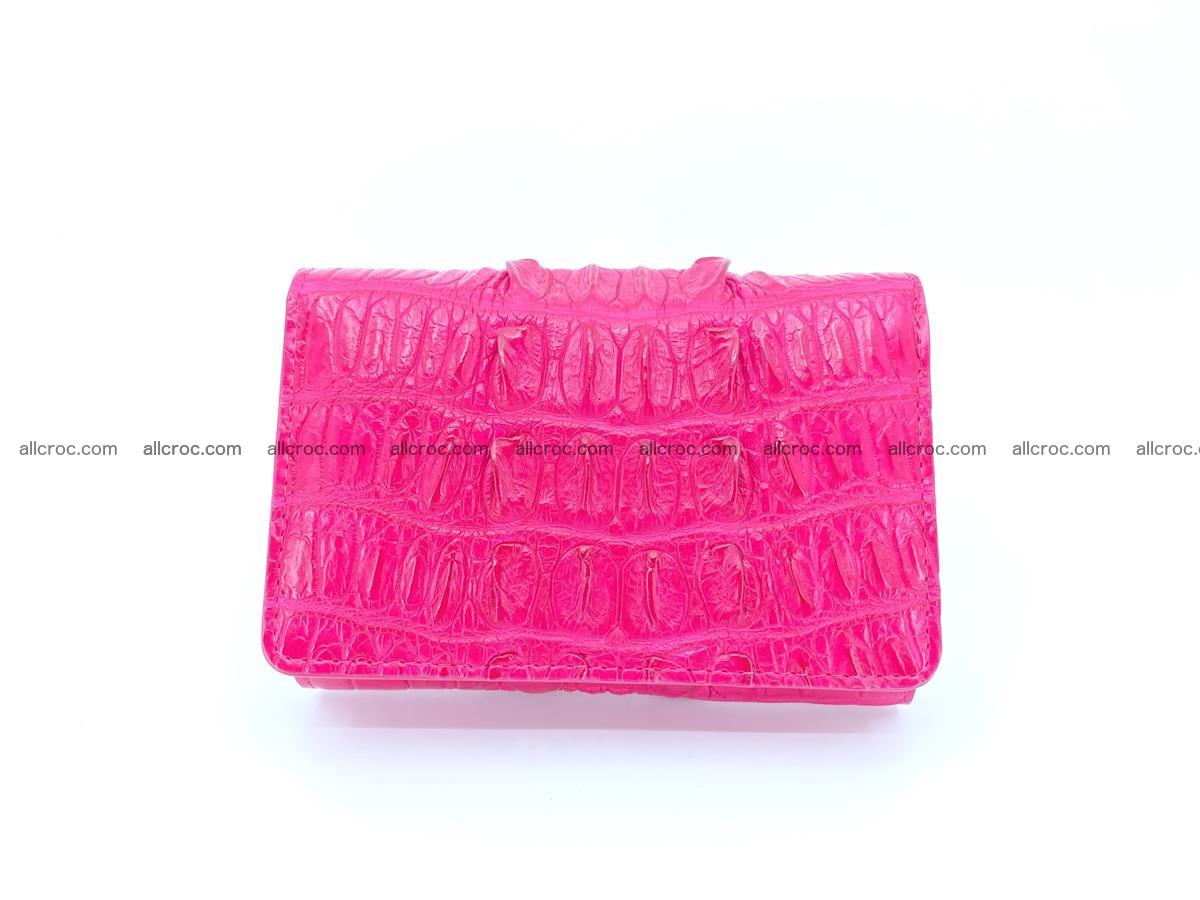 Crocodile skin wallet for women 396 Foto 0