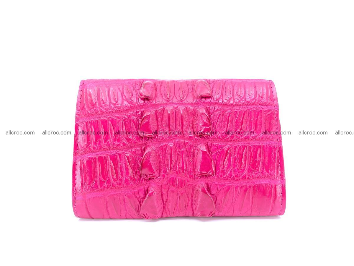 Crocodile skin wallet for women 396 Foto 1
