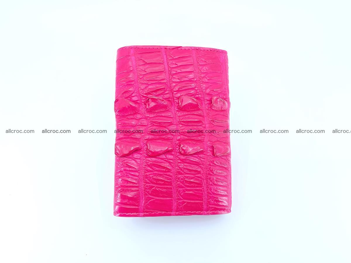 Crocodile skin wallet for women 396 Foto 3