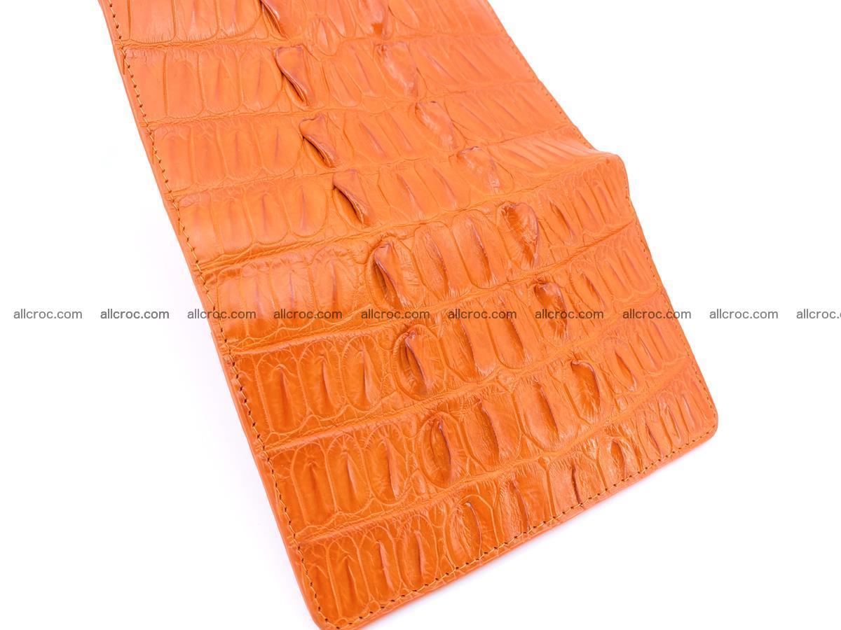 Crocodile skin wallet for women 400 Foto 7