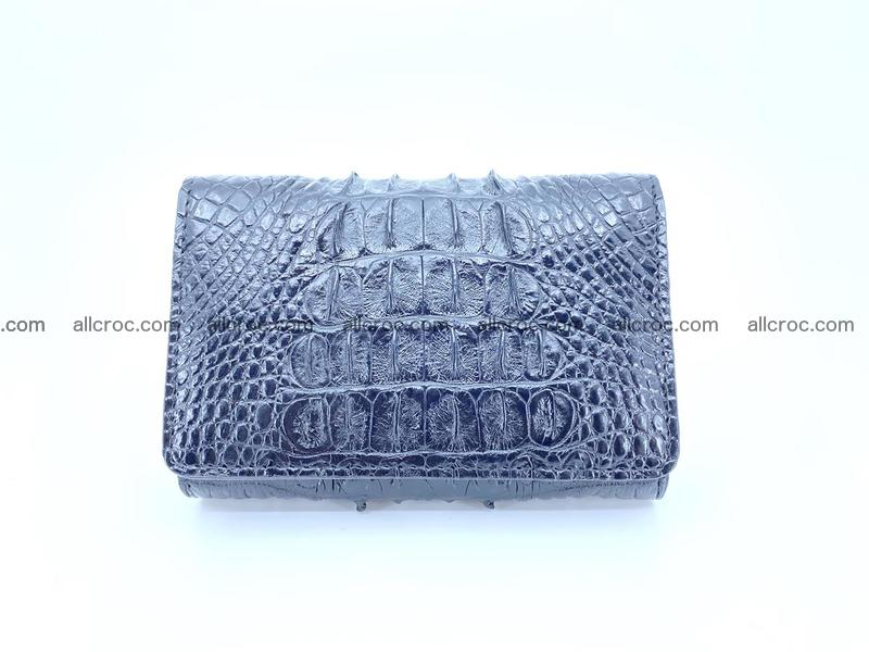 Crocodile skin wallet for women 405