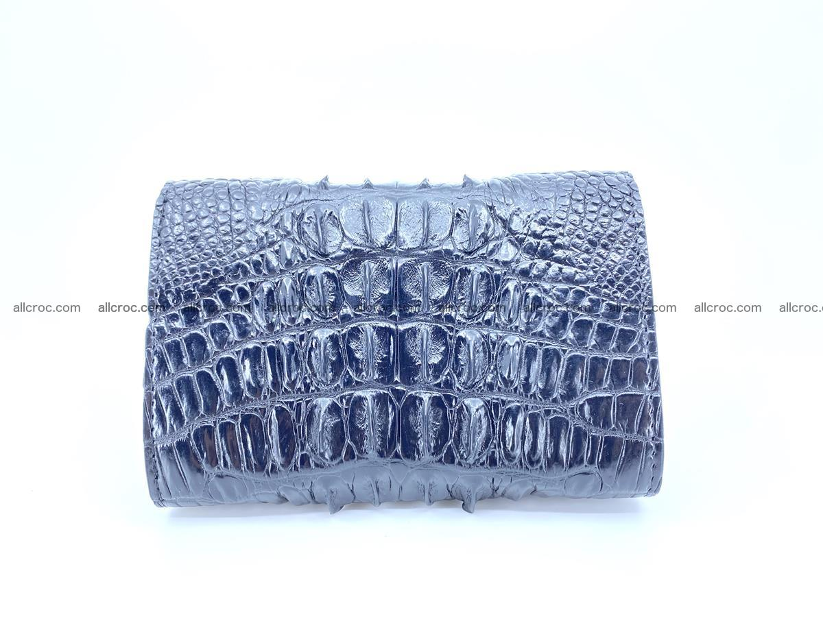 Crocodile skin wallet for women 405 Foto 1