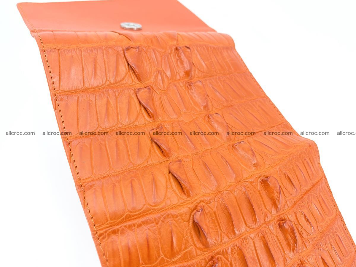 Crocodile skin wallet for women 400 Foto 6