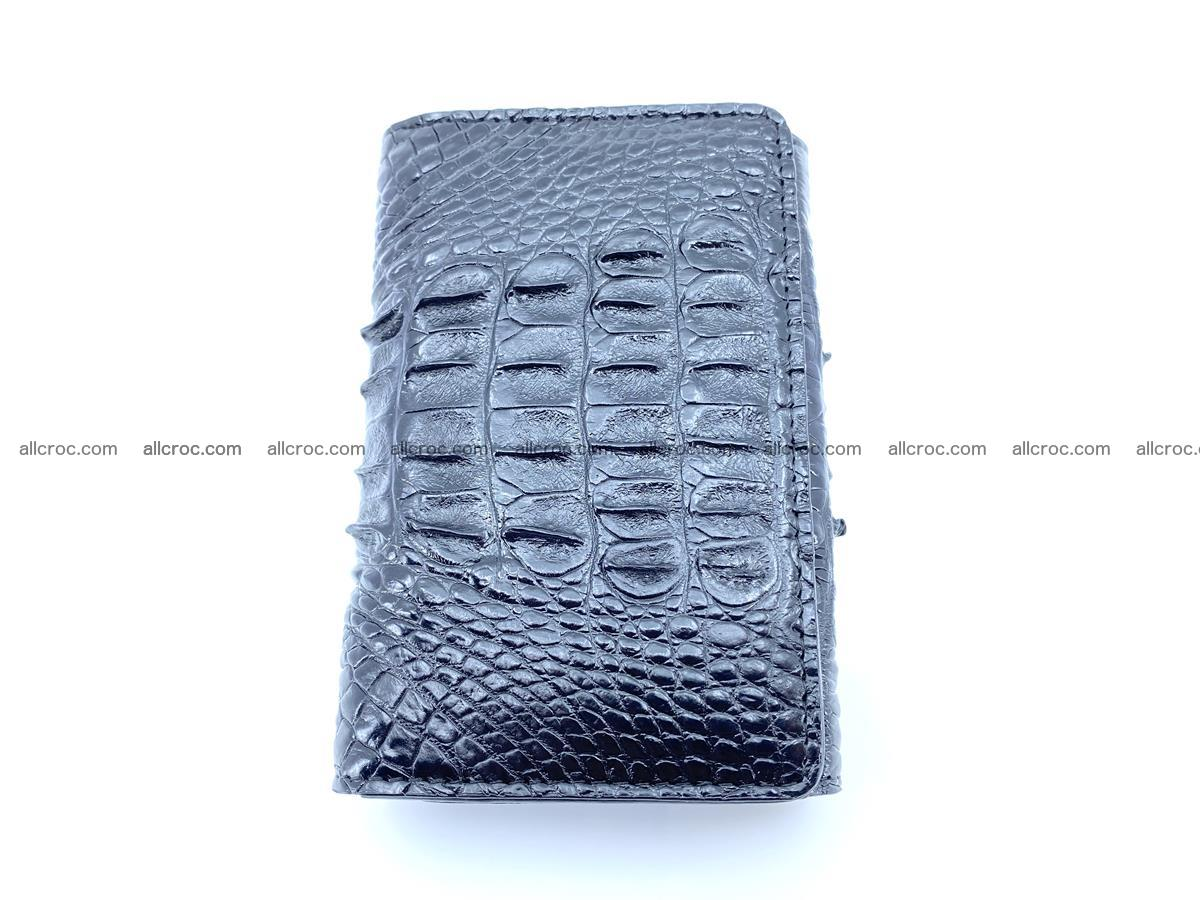 Crocodile skin wallet for women 405 Foto 5
