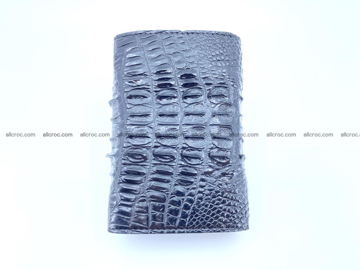 Crocodile skin wallet for women 405 Foto 6